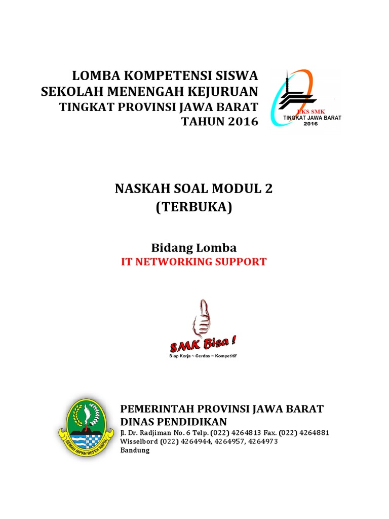 Soal Modul 2 It Networking Lks 2016 Web Server Public Key