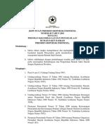 Kepres No.40-2001 Tentang Pedoman Kelembagaan Dan Pengeloaan RSD