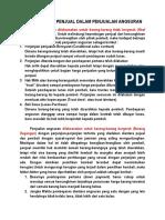Proteksi Penjual Dalam Penjualan Angsuran (2)