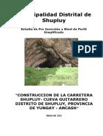 Perfil de Shupluy