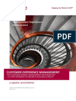 Customer Experience Management Nov 2015 Ver 1 1