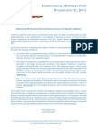 Moldova - Press Release ADL