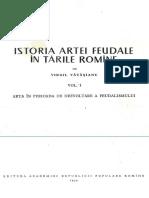 Vatasianu Virgil - Istoria Artei Feudale - Arhitectura