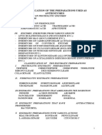 Classification of the Preparations Used as Antienzymes