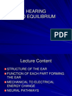 A0618 Hearing and Equilibrium