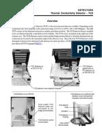 Thermal Conductivity Detector