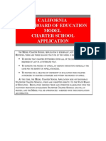 Sbe Charter Model
