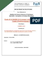 Etude de La Fiabilite de La Po - ZARRIK Amal_587