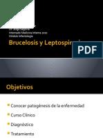 Brucelosis y Leptospirosis
