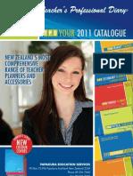 Teacher Planning Diaries (2011)