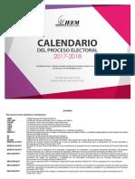 Calendario Electoral 17 18