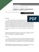 Resenha Livro 02. BECK, Ulrich. Sociedade de risco- Rumo a uma outra modernidade..pdf
