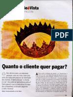 Revista Exame - Artigo Falconi