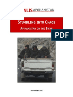 Afghanistan on the Brink