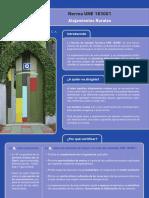 Ficha Comercial de Producto Certificación de Alojamientos Rurales
