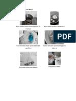 Foto Langkah Cara Kerja perbekalan steril