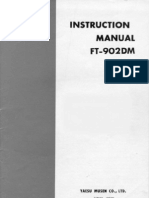 Yaesu FT-902DM Instruction Manual