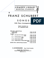 Schubert - Songs (82)
