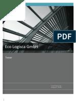 Executive Summary of Eco Logisca GmbH