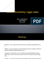 Turkish Economy 1990-2000.ppt