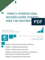 Presentación_M4T3_Puentes Losa, Sección Cajón, Puentes Viga y de Sección Mixta