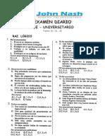 Examen Diario Pre 2