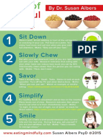 5S of Mindful Eating by Dr Susan Albers Dl