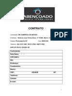Modelo - Contrato Em Branco Preenchimento à Mão (Incluindo Espelhos No Projeto)