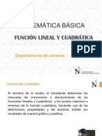 Ppt Funcion Lineal -Cuadratica