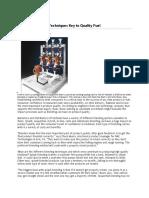 Biofuel Stratify