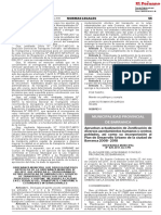 Aprueban actualización de Zonificación de diversos asentamientos humanos y centros poblados así como su incorporación al Plan de Desarrollo Urbano de la ciudad de Barranca 2008 - 2018