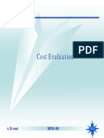 cost evaluation study