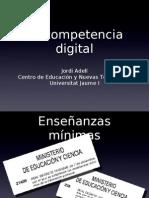 La Competencia Digital_Jordi Adell