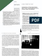Batch Leach Testing Methods