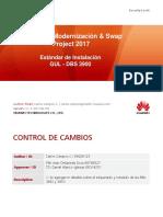 Estandar de Instalacion Huawei -Modernizacion V1.4