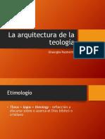 Arquitectura de La Teología