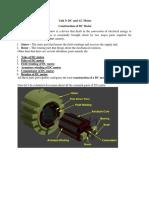 unit 5 DC Motor