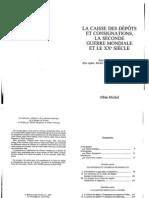 Finanziament du Tresor et de l'economie en Italie, des annes1930 au lendmain de la seconde guerre mondiale