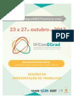 ConEGRad III - Sessão de Apresentação