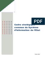 03 - Cadre Stratégique SI Etat - Version 1.0 Février 2013 (1)