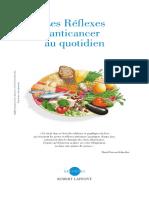 Les Réflexes Anticancer Au Quotidien - David Servan-Schreiber