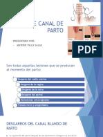 Lesiones de Canal de Parto Obstetricia