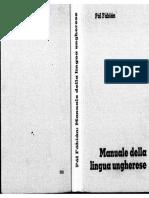 13 Manuale Della Lingua Ungherese