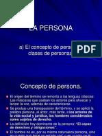 Tema 1. La Persona