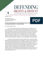 DRAD Letter Russia Report