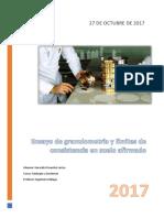 Primer Informe Granulometria