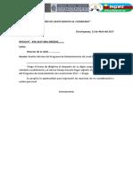 Modelo de Informe Wasichay