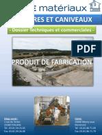Bordures Et Caniveaux Dossier Techiniques Et Commerciales