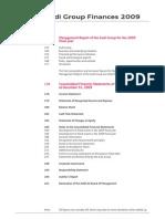 Audi Group Finances 2009