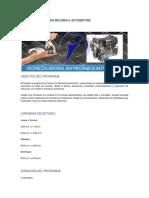 Técnico Laboral en Mecánica Automotriz
